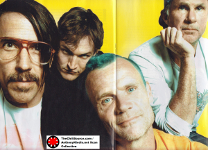 photo new line up red hot chili peppers Josh Klinghoffer Flea Chad Smith Anthony Kiedis