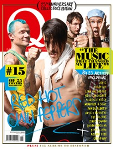 Anthony Kiedis Flea Josh Klinghoffer Chad Smith Red Hot Chili Peppers new line up
