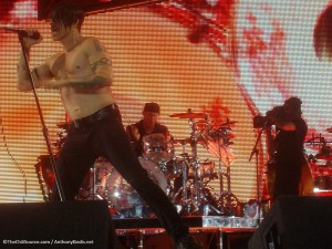 Anthony Kiedis Chad Smith Red Hot Chili Peppers November 2011