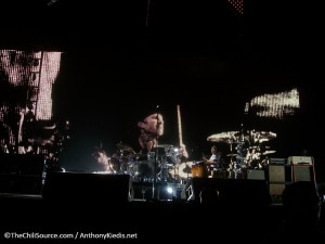 Red Hot Chili Peppers drummer Chad Smith November 2011