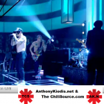 Red Hot Chili Peppers live Jools Holland later 22 November 2011