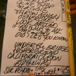 set list Red Hot Chili Peppers LG Arena Birmingham 20 November 2011