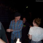 Chad Smith Red Hot Chili Peppers drummer greets fans Birmingham 2011