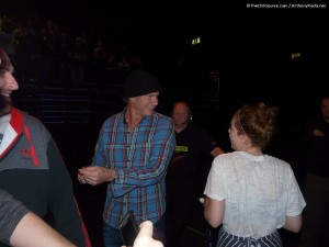 Chad Smith meeting fans Birmingham