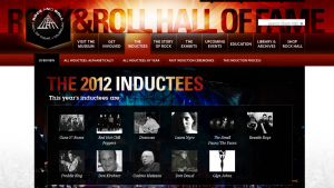 Red Hot Chili Peppers Cleveland Rock N Roll hall of Fame 2012 inductees