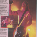 NME-october-1995-RHCP-Brixton-Academy-review-photo