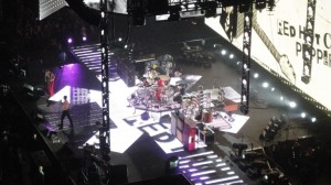 Red Hot Chili Peppers I'm With You stage set up new