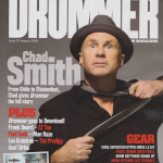 Drummer-August-2009-Chad-Smith-RHCP-cover