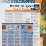 Red Hot Chili Peppers Stadium Arcadium album review Giant