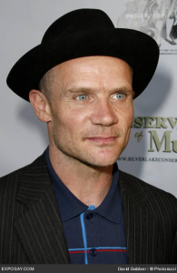 flea at Silverlake Conservatory of Music fundraising event