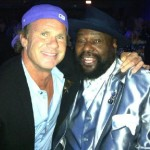 Red Hot Chili Peppers cleveland Rock n roll induction Chad Smith & George Clinton