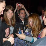 Paris Red Hot Chili Peppers stade de france Josh Klinghoffer signing autographs Four Seasons hotel