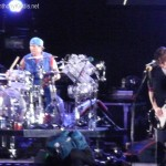 red hot chili peppers live on stage knebworth england 2012