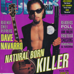 Dave Navarro Red Hot Chili Peppers One Hot Minute interview