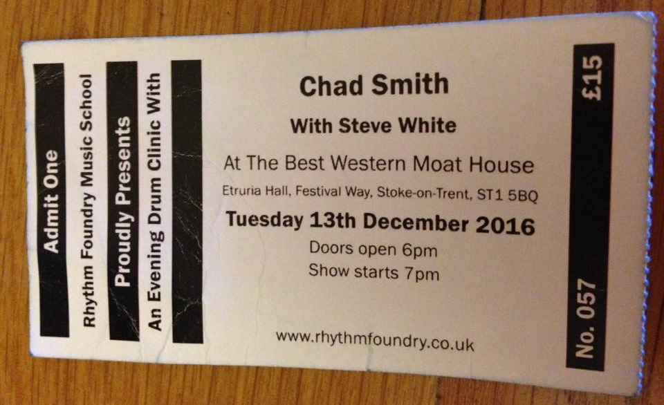 chad-smith-drum-clinic-ticket-stoke