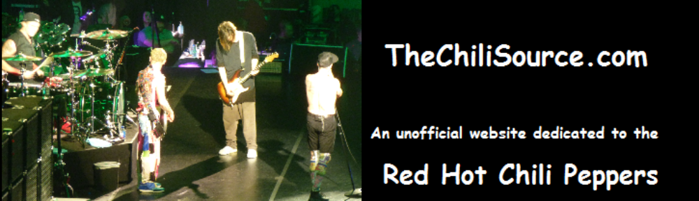 Red Hot Chili Peppers fansite, news and forum – thechilisource.com